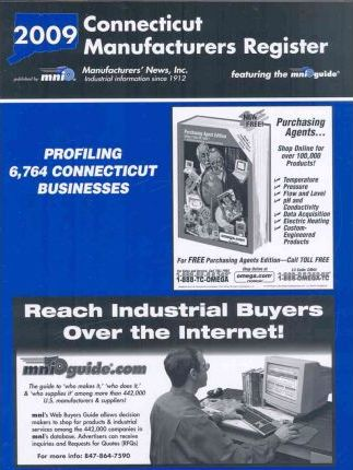 Connecticut Manufacturers Register 2009