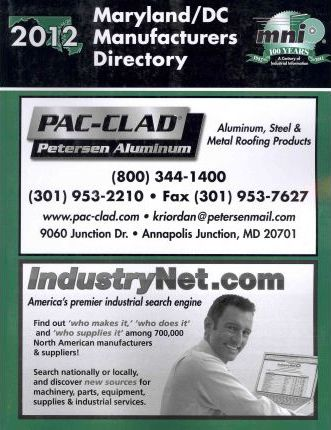 Maryland/ DC Manufactures Directory 2012