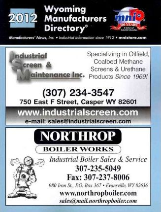 Wyoming Manufacturers Directory 2012