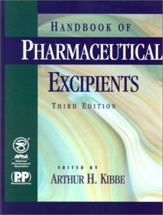 Order the Handbook of Pharmaceutical Excipients