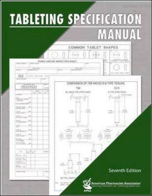 Tableting Specification Manual