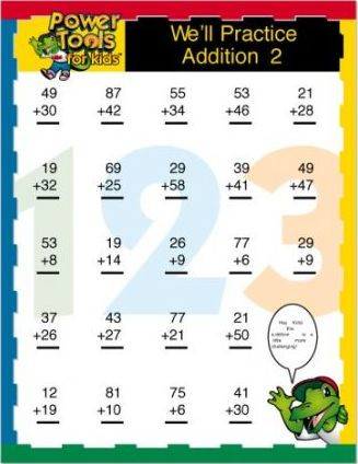 We'll Practice Addition 2