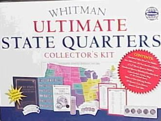 Whitman Ultimate State Quarters Collector's Kit