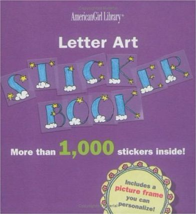 Letter Art Sticker Book