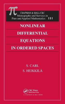 Nonlinear Differential Equations in Ordered Spaces