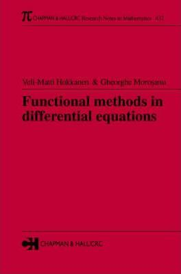 Functional Methods in Differential Equations
