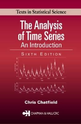 The Analysis of Time Series : An Introduction, Sixth Edition