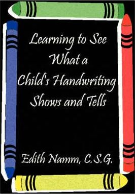 Learning to See What a Child's Handwriting Shows and Tells
