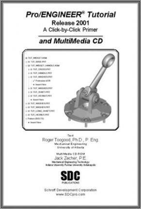 Pro/Engineer Tutorial and Multimedia CD