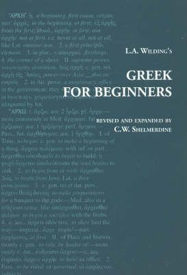 L A Wilding's Greek for Beginners