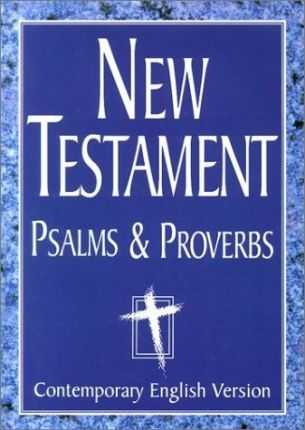 New Testament Psalms and Proverbs-Cev-Giant Print