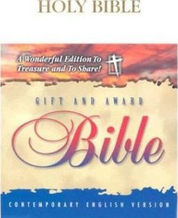 Gift and Award Bible-Cev