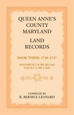 Queen Anne's County, Maryland Land Records. Book 3