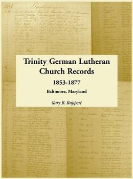 Trinity German Lutheran Church Records, 1853-1877