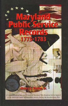 Maryland Public Service Records, 1775-1783
