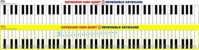 Keyboard Kids * Quiet 88 * Reversible Keyboard