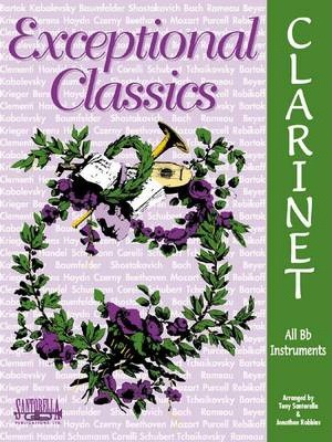 Exceptional Classics for Clarinet