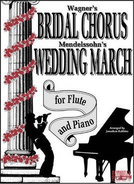 Bridal Chorus & Wedding March for Flute & Piano