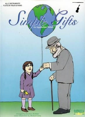 Simple Gifts for Flute or Violin & Piano
