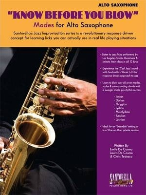 Know Before You Blow - Jazz Modes for Alto Sax