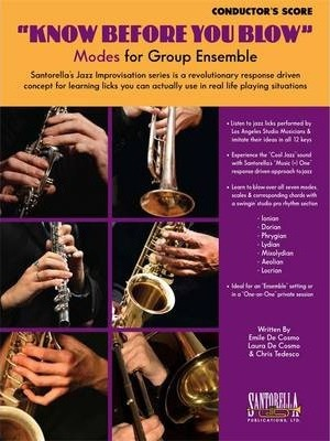 Know Before You Blow - Jazz Modes Conductor's Score