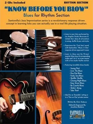 Know Before You Blow - Blues for the Rhythm Section with 2 CDs