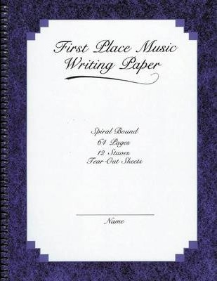 First Place 12 Stave with Perferated Manuscript
