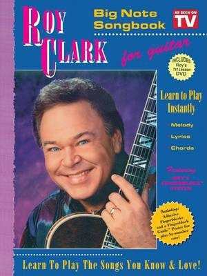 Roy Clark Big Note TV Songbook with 1st Lesson