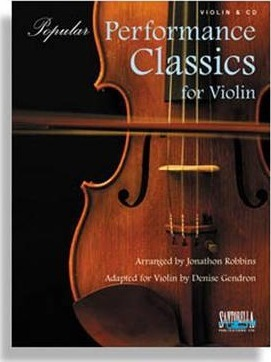 Popular Performance Classics for Violin