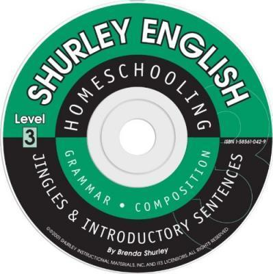 Shurley Grammar Level 3 Introductory CD