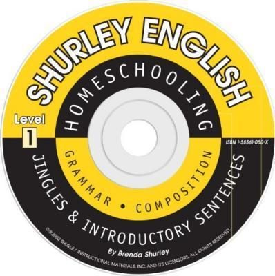 Shurley Grammar Level 1 Introductory CD