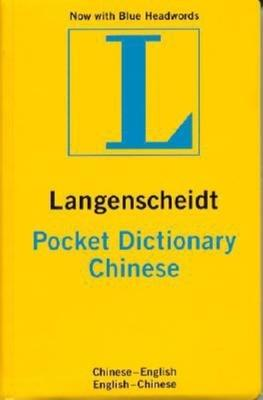 Chinese Langenscheidt Pocket Dictionary