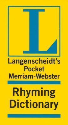 Merriam-Webster Pocket Rhyming Dictionary