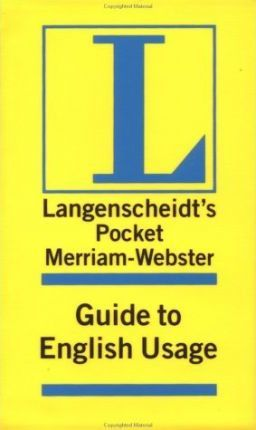 Merriam-Webster Pocket Guide to English Usage
