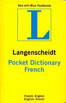 French Langenscheidt Pocket Dictionary