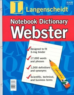 Webster English Notebk Dict