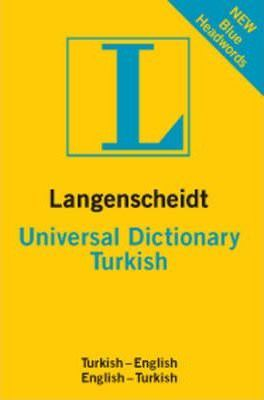 Turkish Langenscheidt Universal Dictionary