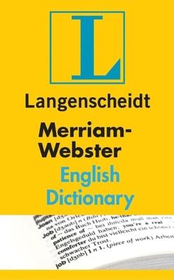 Langenscheidt Merriam-Webster English Dictionary