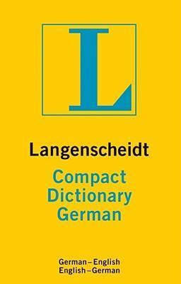 Compact Dictionary German