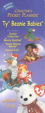Ty Beanie Babies Collector's Pocket Planner Winter