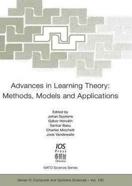 Advances in Learning Theory