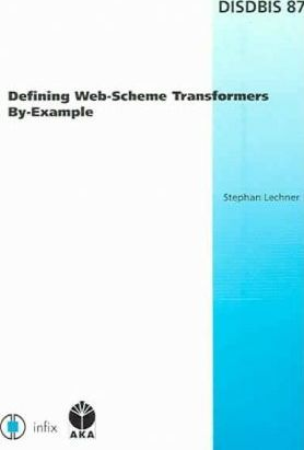 Defining Web-scheme Transformers By-example