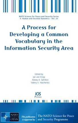 A Process for Developing a Common Vocabulary in the Information Security Area