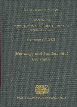 Metrology and Fundamental Constants