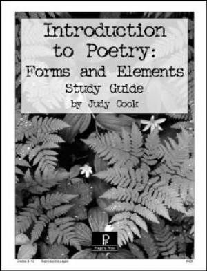 Introduction to Poetry: Forms & Elements Study Guide