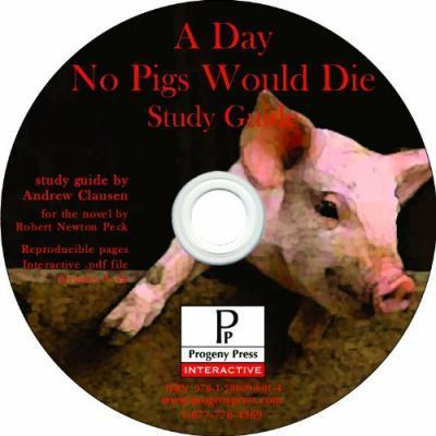 Day No Pigs Would Die Study Guide CD-ROM