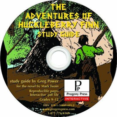 The Adventures of Huckleberry Finn Study Guide CD-ROM