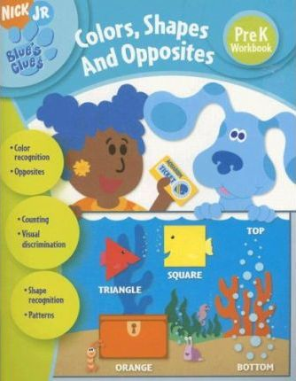 Blue's Clues Colors, Shapes, and Opposites