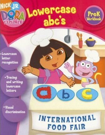 Dora the Explorer Lowercase ABC's