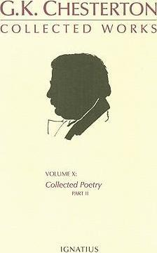 G.K. Chesterton Collected Works, Volume X